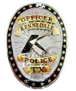 Kennedale Police Department Badge