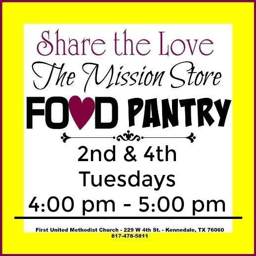 Mission Store Food Pantry