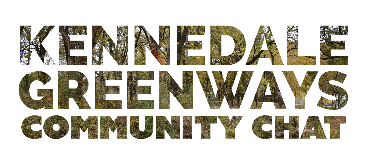 Kennedale Greenways Community Chat Thursday, December 12 at 6:00 p.m. in Council Chambers