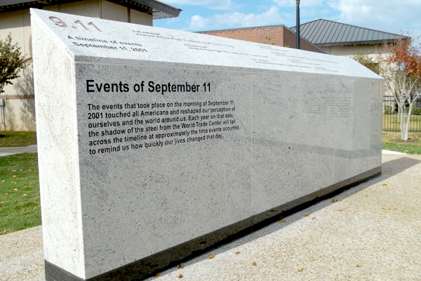 WALL ONE: Events of September 11, 2001