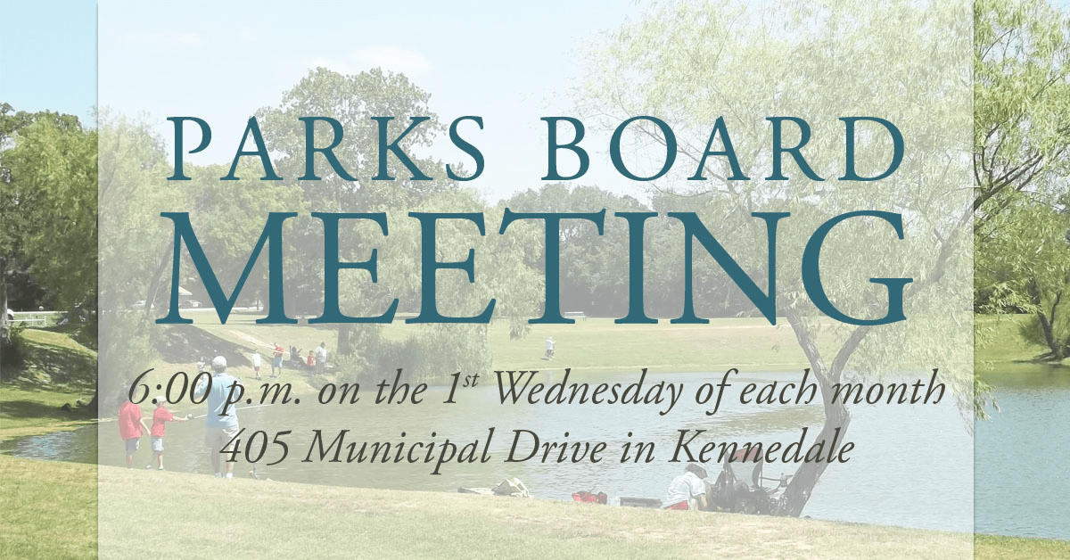Parks Board Regular Meeting