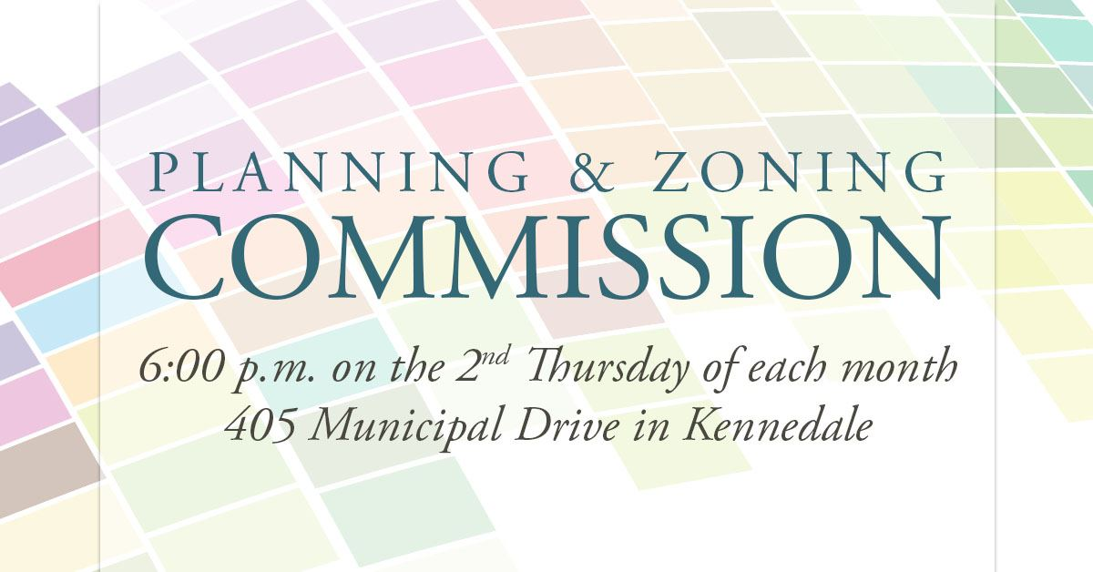Planning and Zoning Commission Regular Meeting