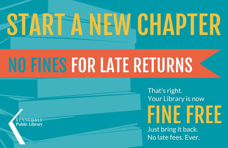 No Fines for Late Returns at the Kennedale Library