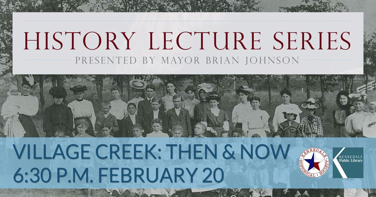 Mayor's History Lecture Series