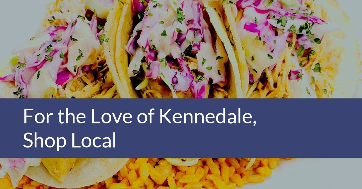 For the Love of Kennedale, Shop Local