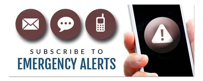 Subscribe to Emergency Alerts Opens in new window