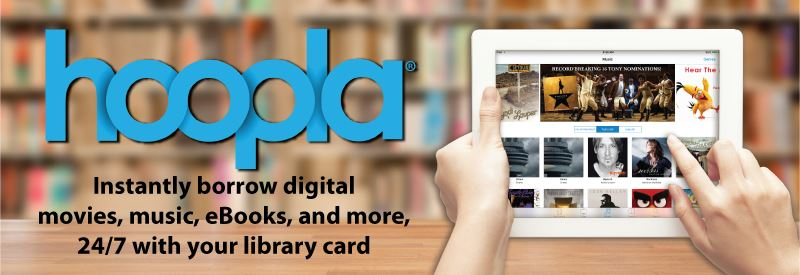Hoopla Digital Downloads Opens in new window