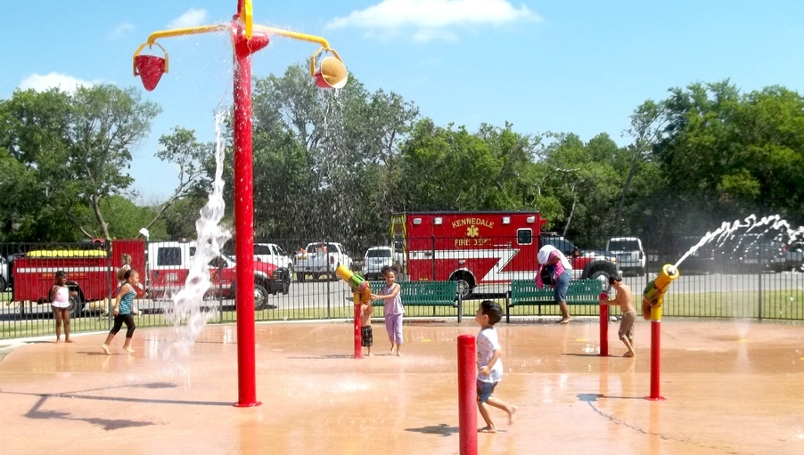 Splash Pad at Sonora Park