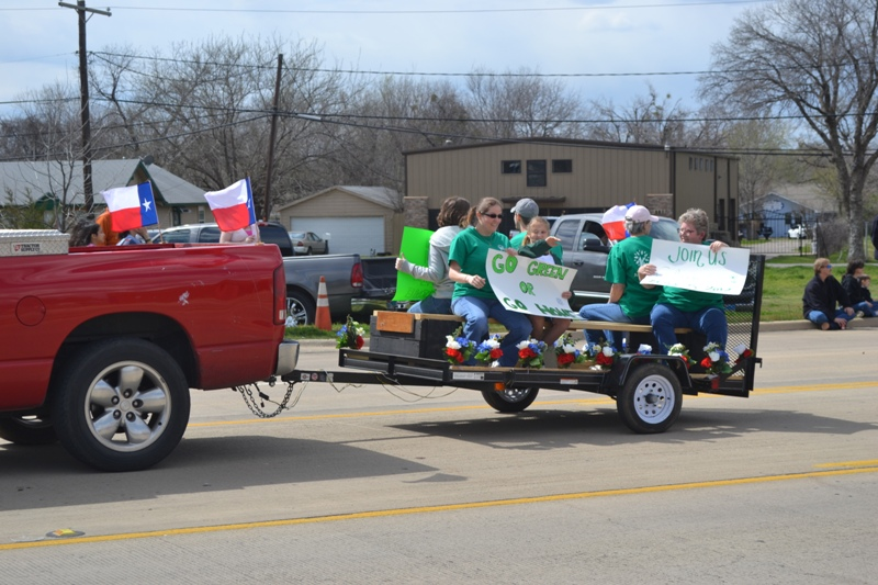 Texas Independence Day Parade 2012